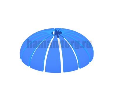 Купол потолок для хамама